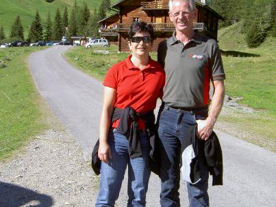 Ihr Gastgeber Ernst und Ida Ranalter