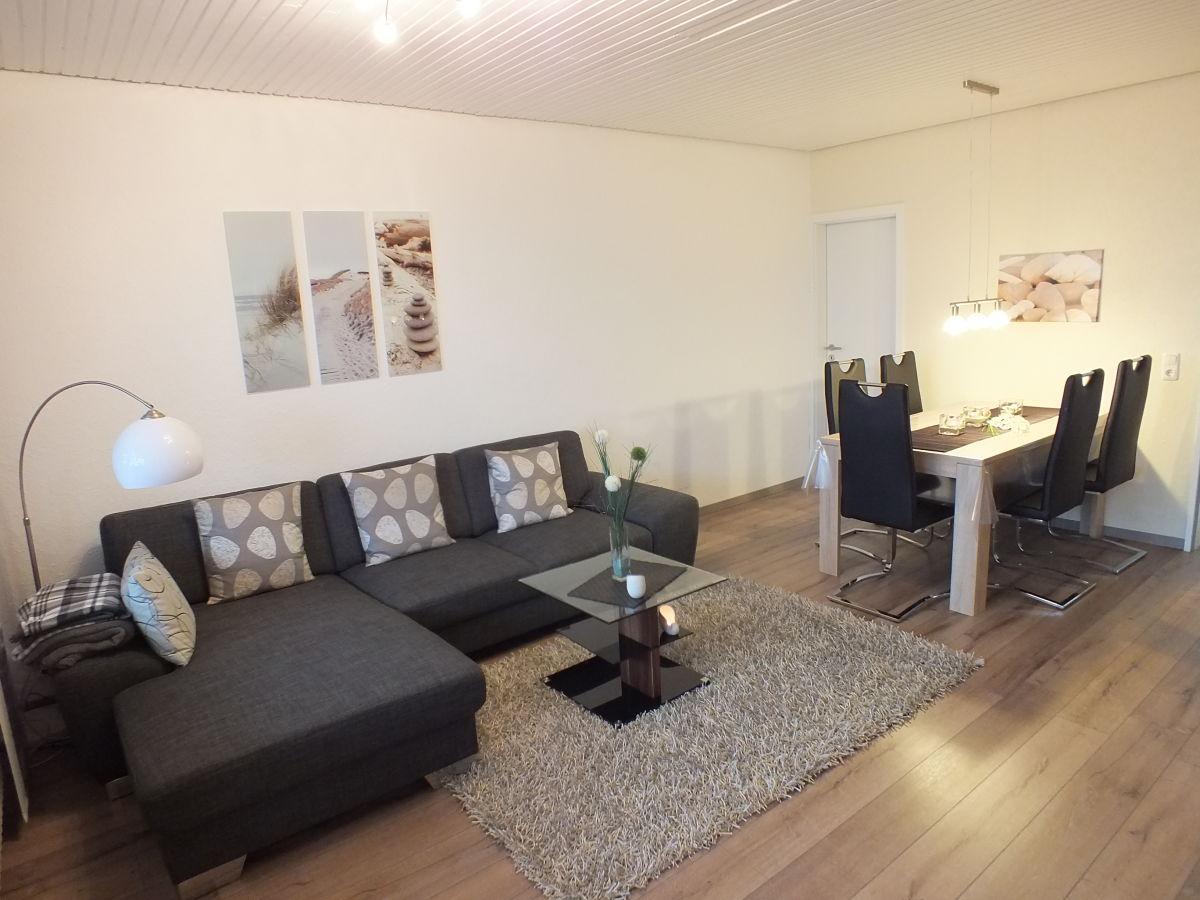 Ferienwohnung watten blick 1 nordsee cuxhaven for Wohnzimmer eingerichtet