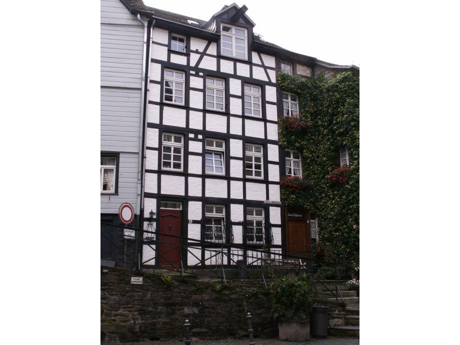 Vorderseite Haus Burgblick im Zentrum von Monschau