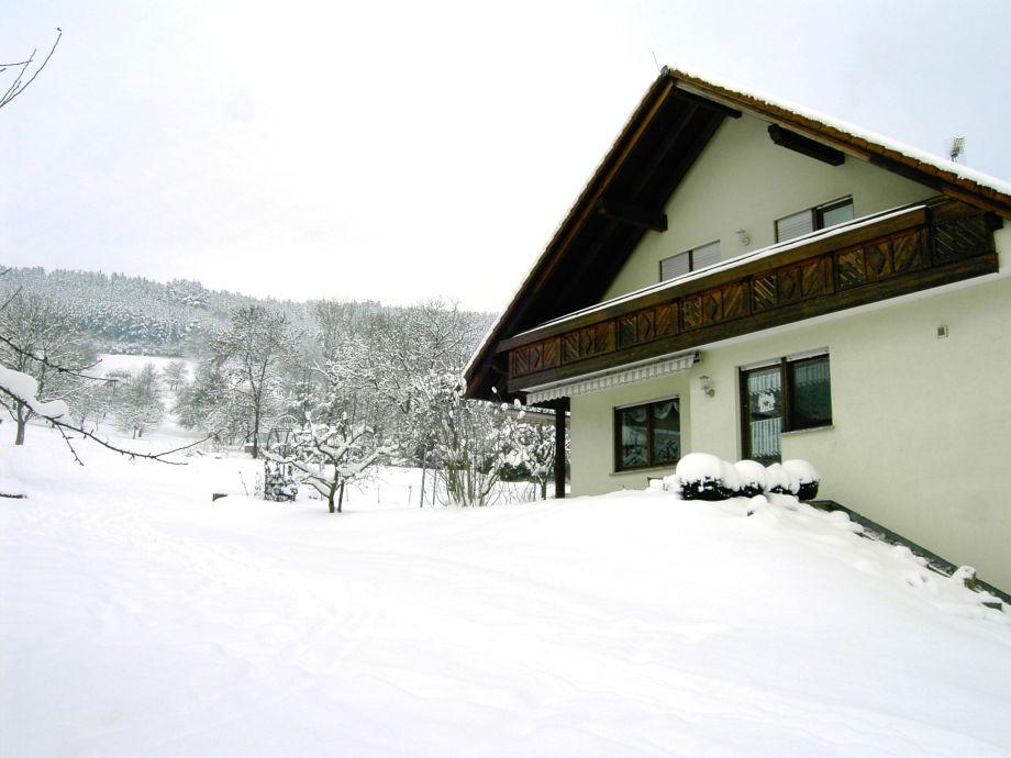 Sehr selten so viel Schnee
