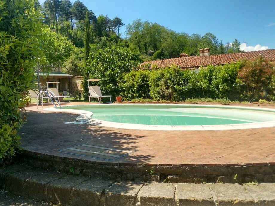 shared swimming pool and sundeck
