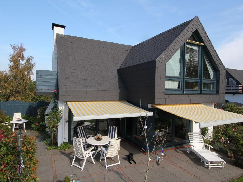 Blick auf 2 von 3 Terrassen