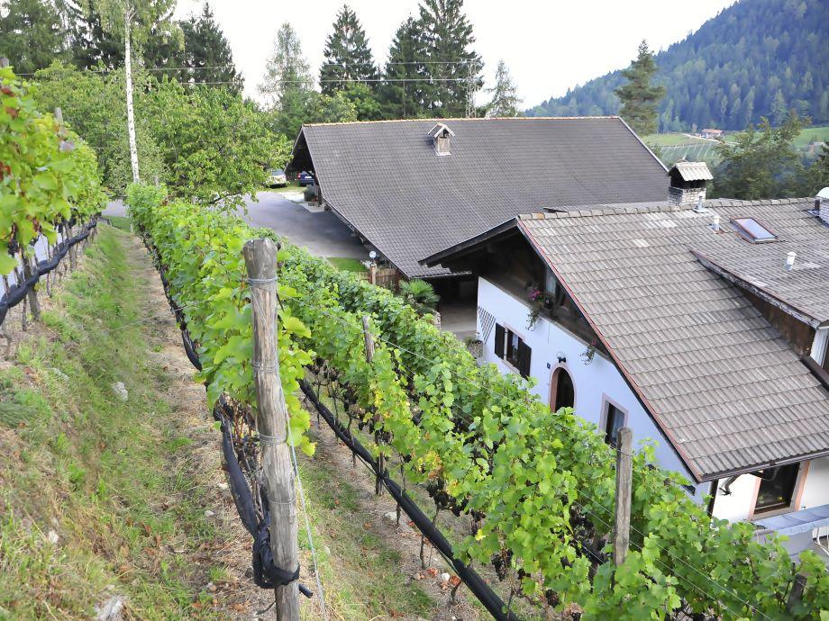Ferienwohnung Lana im Bauernhof Gruberhof Südtirol Meran