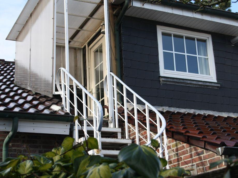 Haus Alte Kiefer Eingang zur Wohnung 3