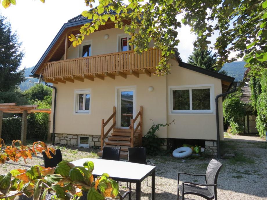 Ferienhaus XL Gartenseite