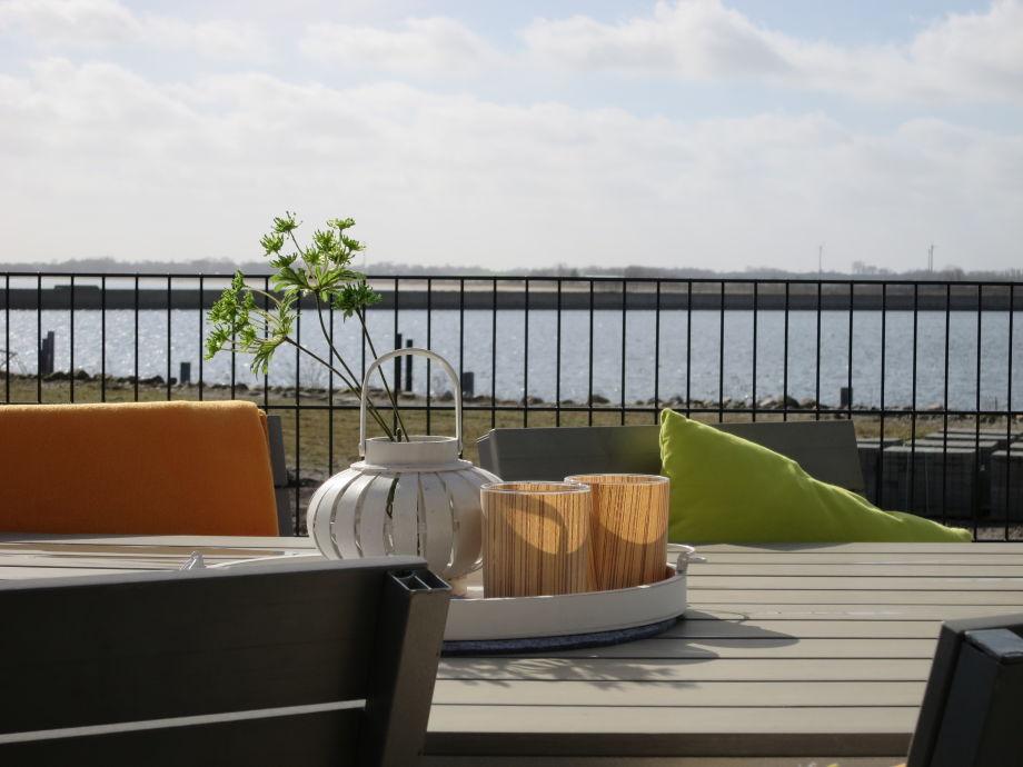 Terrasse mit Ostseeblick!