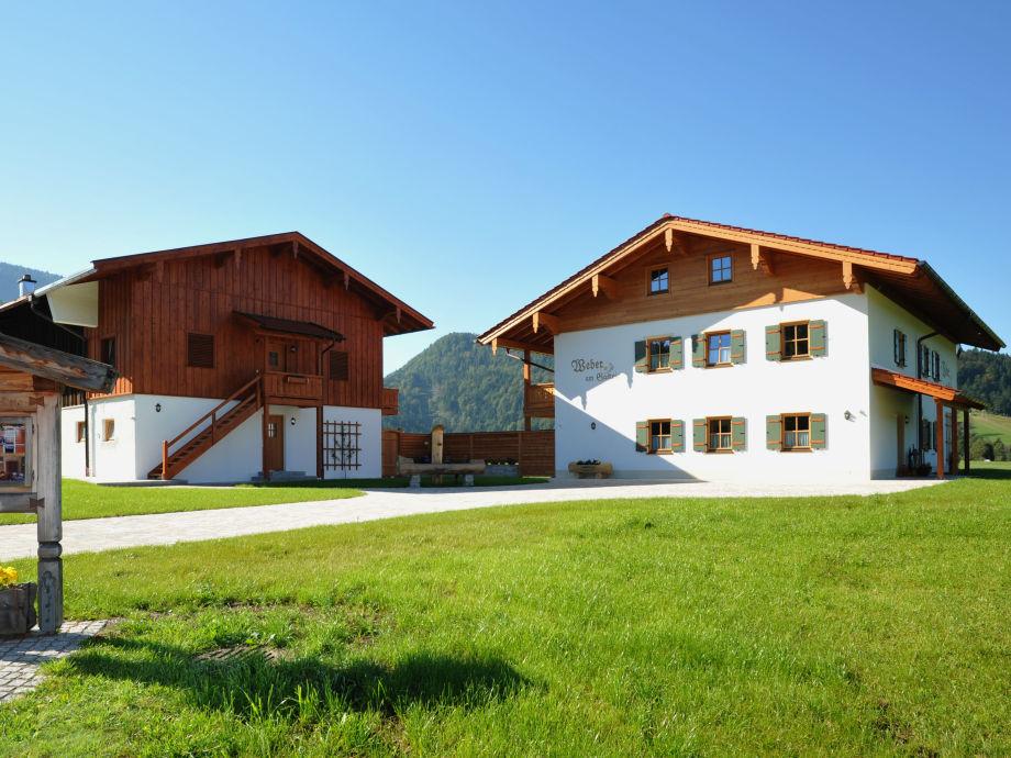 Unser Gästehaus im Sommer