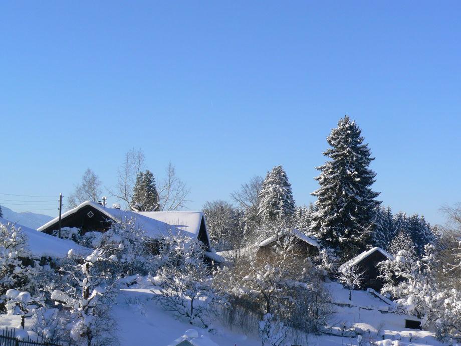 Ferienhof im Winter