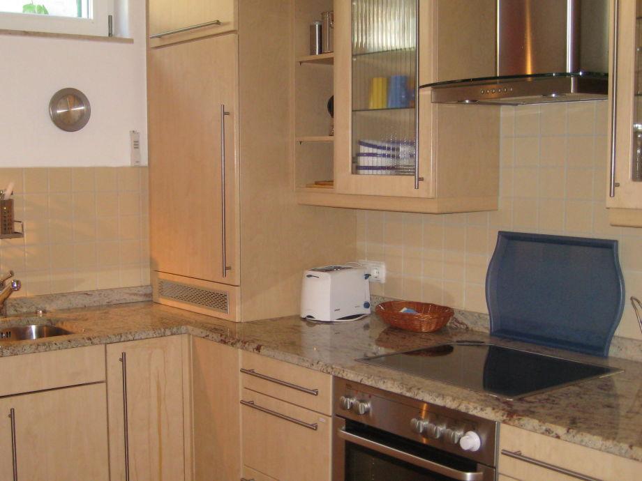 Ferienwohnung gartenhaus villa sanssouci we 2 b for Komplettküche