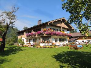 Ferienwohnung Brauneckblick im Haus Streidl