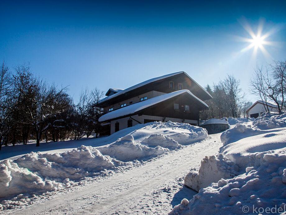 Pension Bielmeier im Winter