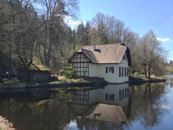 Ferienhaus Altes Bootshaus, Dahner Felsenland