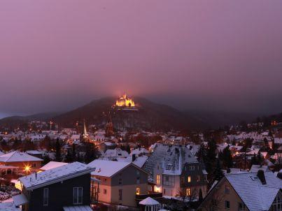 Schlossblick am Sonnenbrink