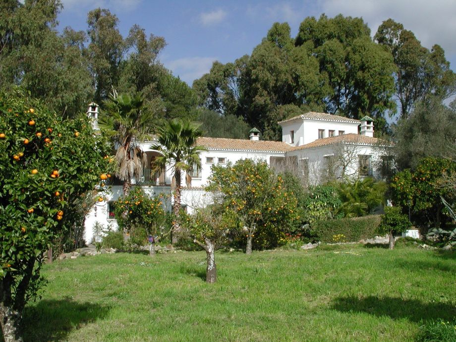 Main House of the Finca