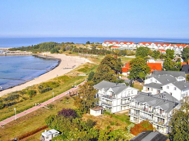 Ferienwohnung in der Strandvilla Böck (WE10, Typ A)