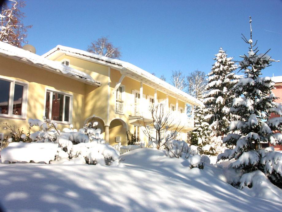 Allgäuvilla during the winter