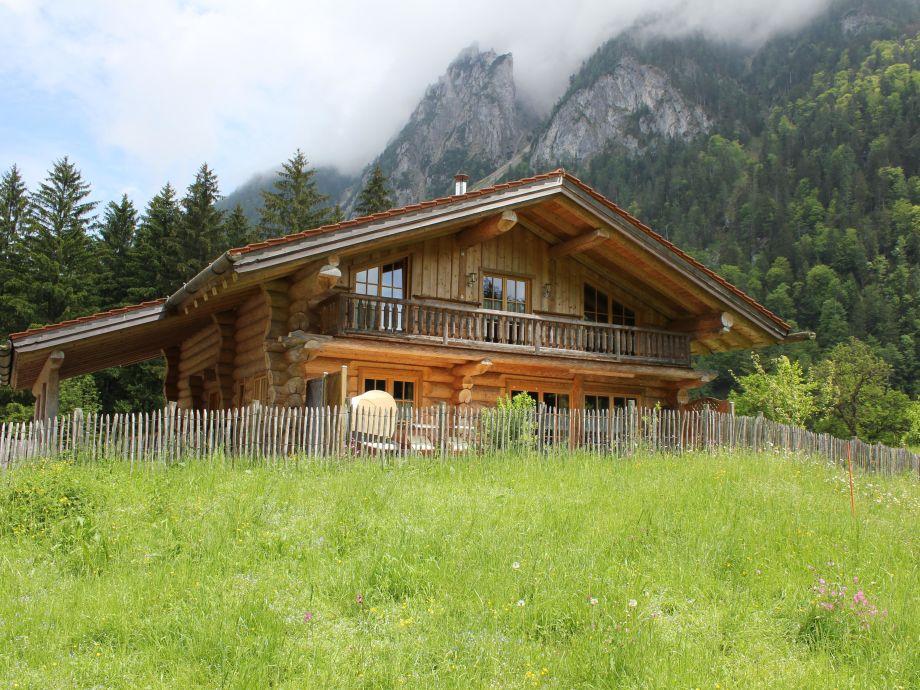 Naturstammhaus in Ruhpolding