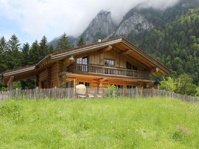 Chalet log house