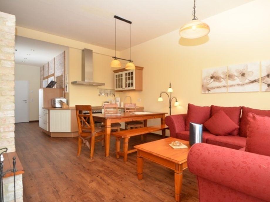Ausstattung Villa To Hus Wohnung 2 mit Balkon zur Südseite