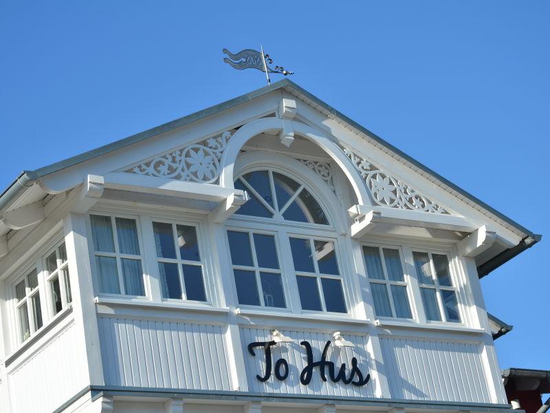 Ferienwohnung Villa To Hus Wohnung 3 mit Balkon