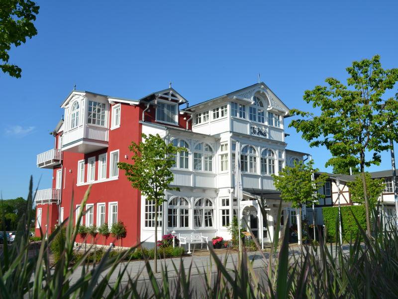 Ferienwohnung Villa To Hus Wohnung 4 mit Balkon zur Südseite