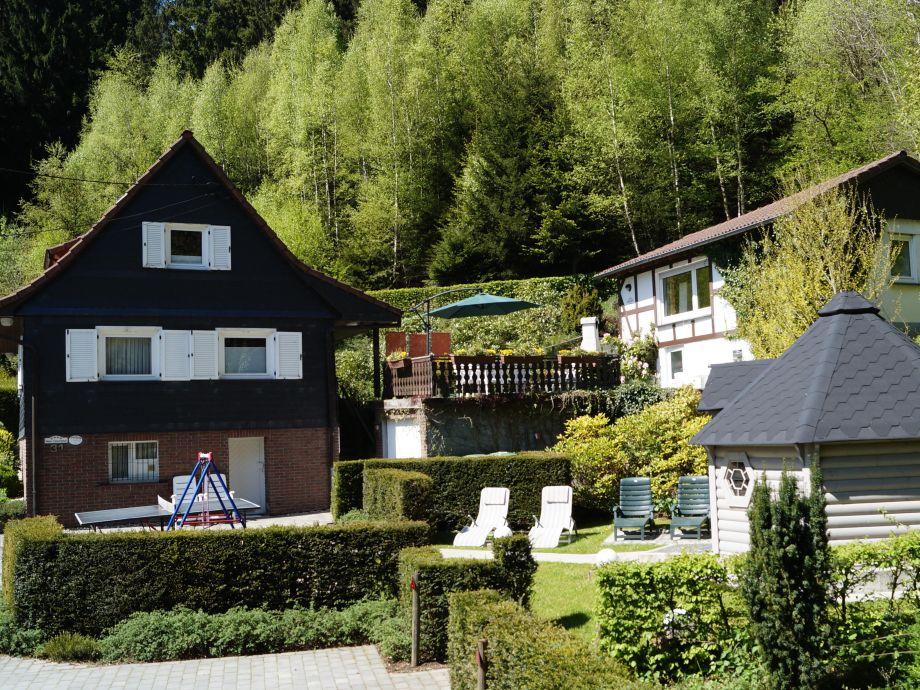Außenaufnahme Landhaus Krähenberg