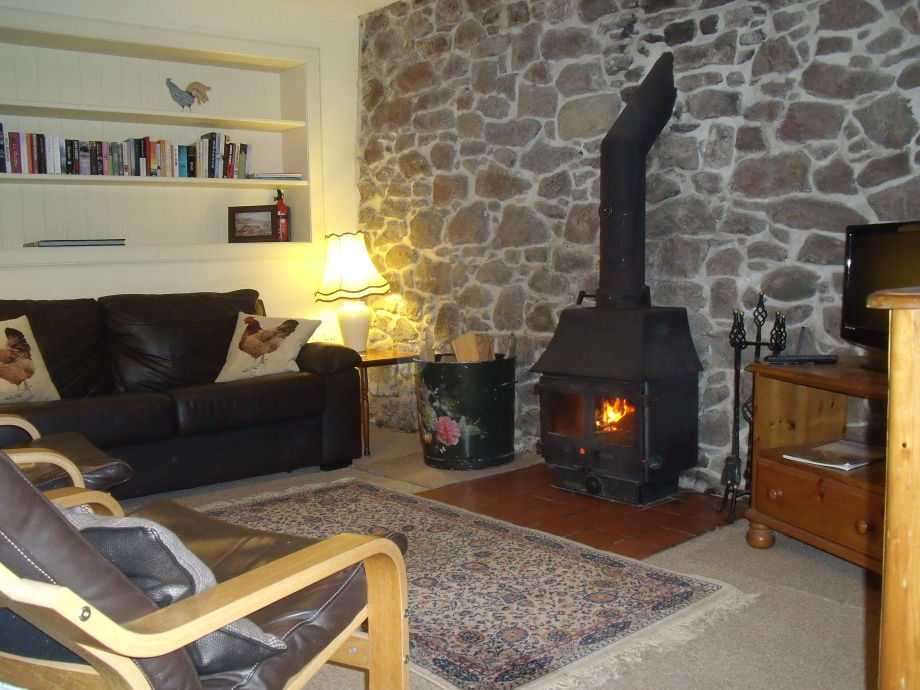 The Bothy has lovely sitting room