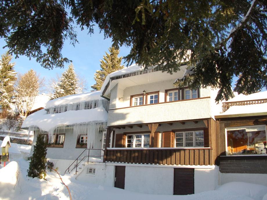 Landhaus Jäger im Winter