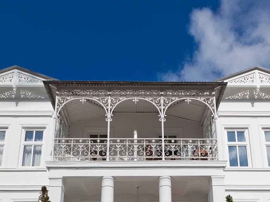 Außenaufnahme Villa Granitz Wohnung Nr. 2