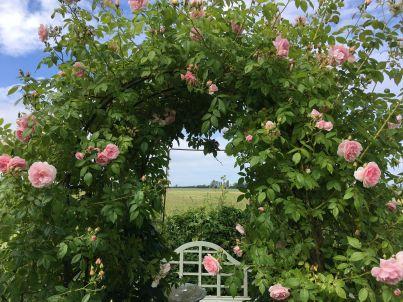 Gartenhaus  auf Hof Jumne
