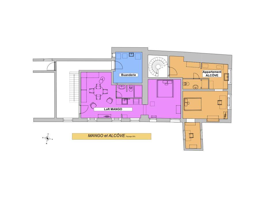 Lovely Floor Plan Of Mango