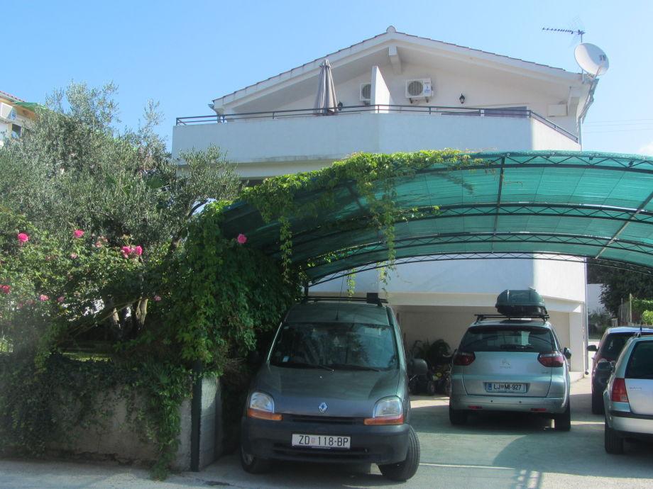 Außenaufnahme Apartments  Tonka und Filip
