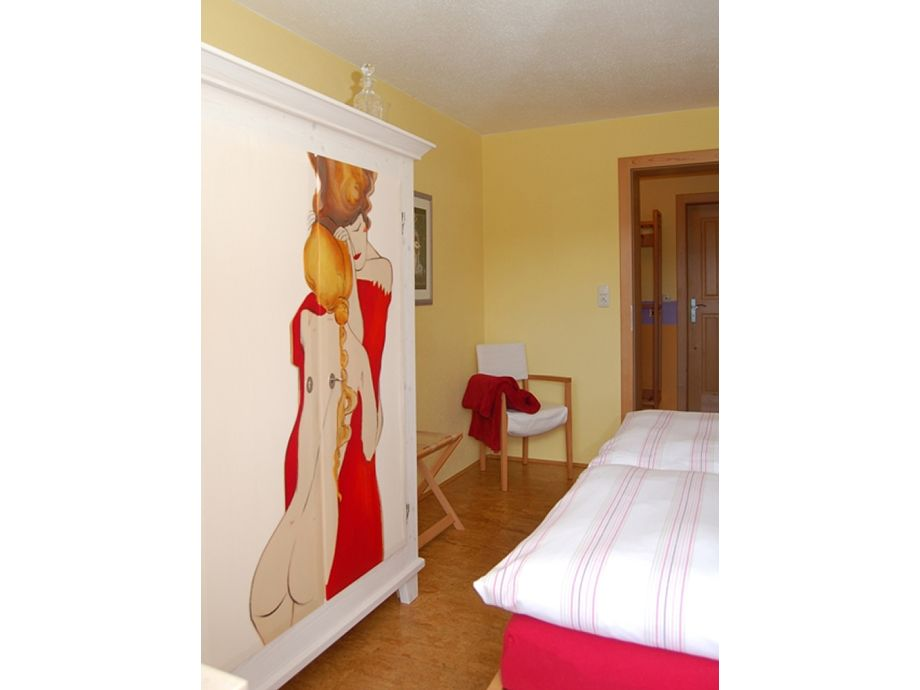 Mäanderwohnung Schlafzimmer