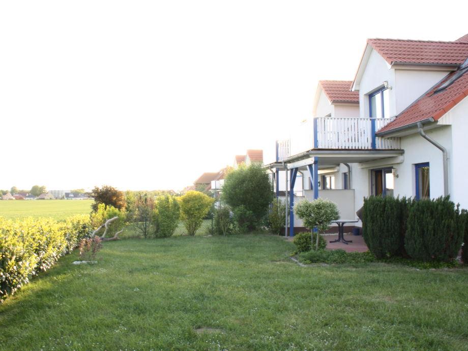 Ansicht Terasse vom Garten
