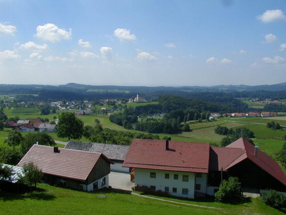 Blick vom Ferienhaus Fernblick