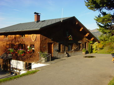 Ferienwohnung Almrausch - Haus Burgl