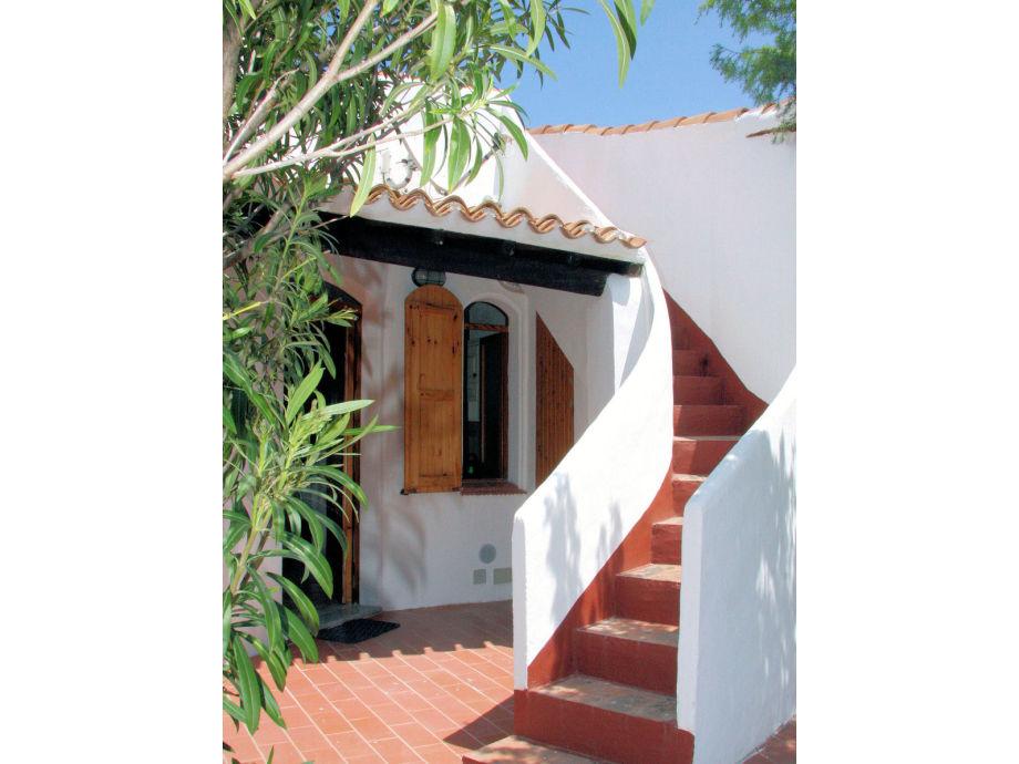Eingangsbereich und Treppe zur Dachterrasse