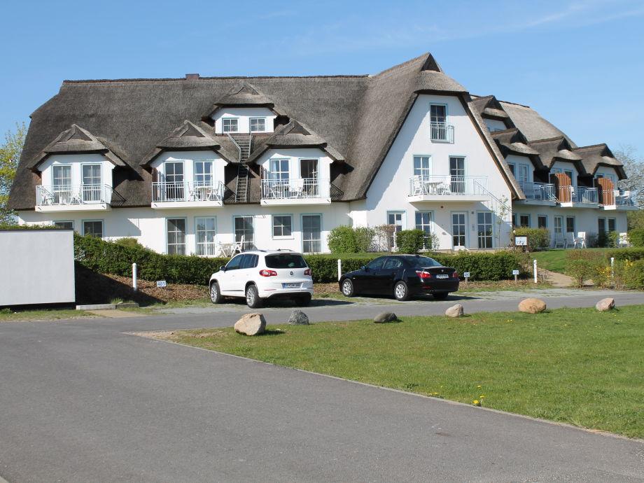 """Außenaufnahme in the hotel complex """"Golf- und Wellnesshotel Balmer See"""""""