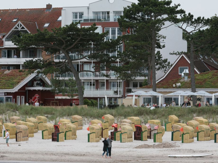 Hier wartet Ihr persönlicher Strandkorb auf Sie.
