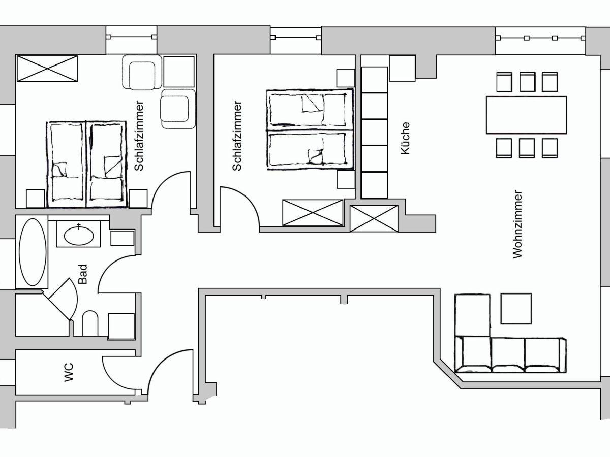 ferienwohnung am kurpark wohnung 2 90 qm garmisch partenkirchen familie gerhard und. Black Bedroom Furniture Sets. Home Design Ideas