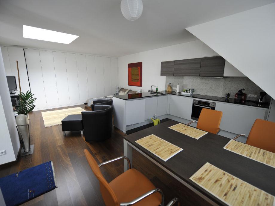 Minimumloft Essbereich : Ferienwohnung grillitsch`s loft in klagenfurt zentrum