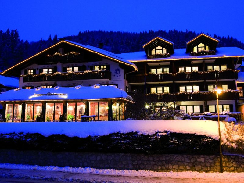 Holiday apartment in the Seehotel Hartung.