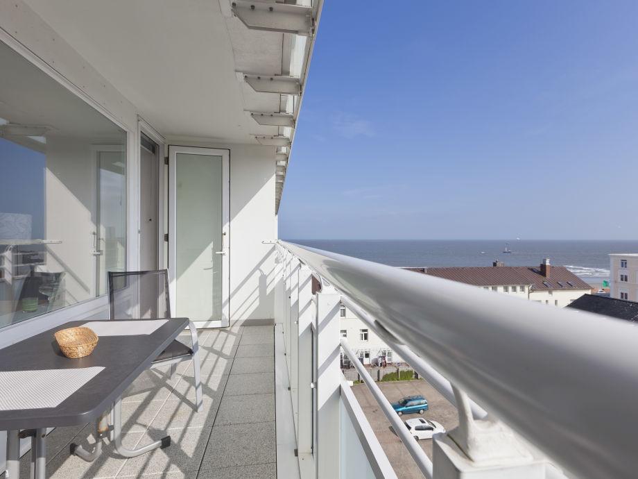 Balkon mit Traumblick
