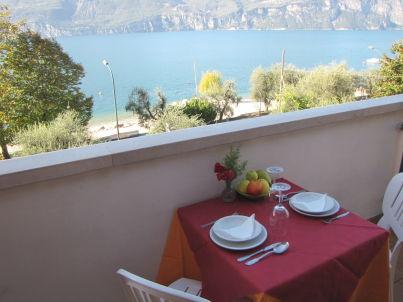 Residence Villa Margherita Studio mit Blick zum See