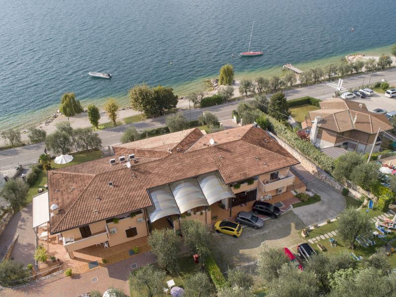 Ferienwohnung Residence Villa Margherita Studio mit Blick zum See