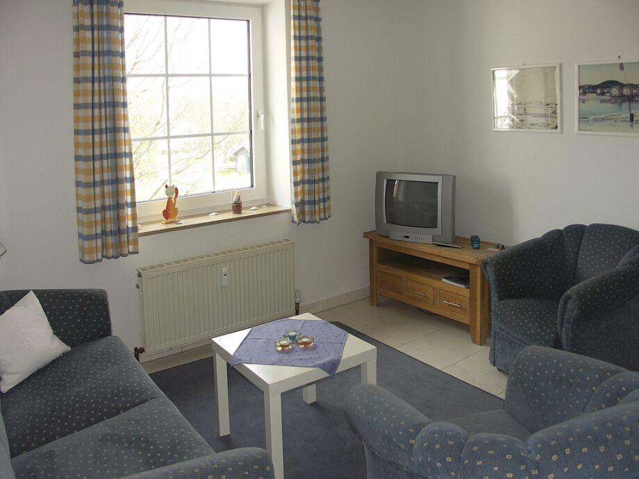 Wohnzimmer mit Sofagarnitur