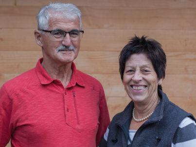 Ihr Gastgeber Gilbert und Denise Ringenbach