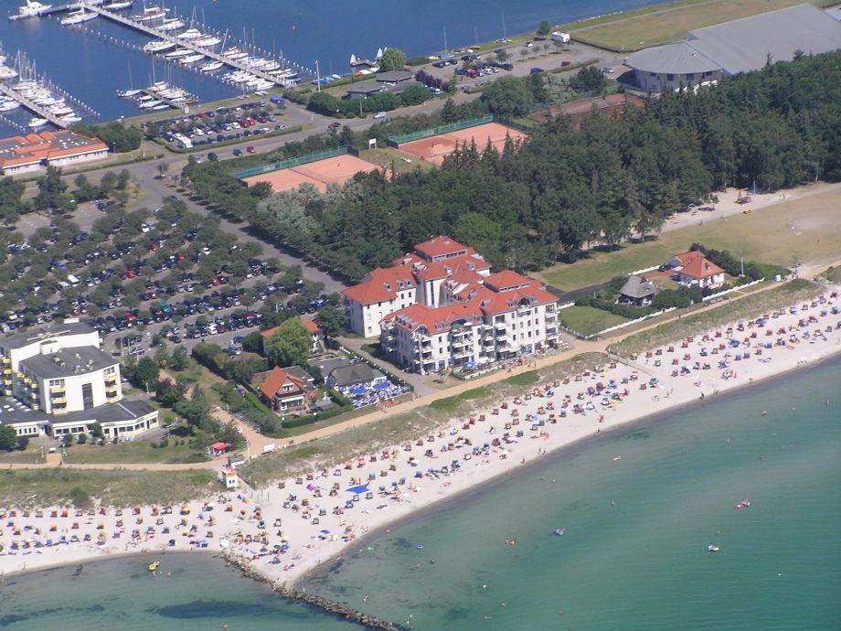 """Außenaufnahme """"The beach castle"""" (Nick name of the house)"""