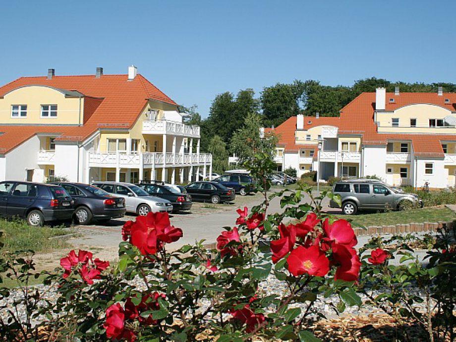Häuser in der Ferienanlage