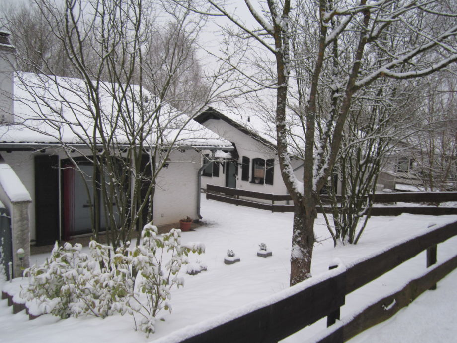 Ferienhaus im Wintermärchen